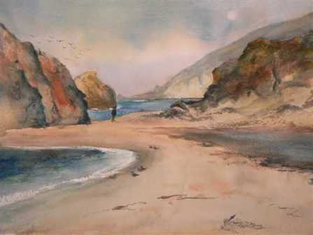 Beach Walk I (sold, sorry)