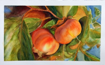 Yummy, watercolor painting